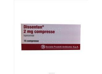 DISSENTEN ANTIDIARREA 2 MG COMPRESSE