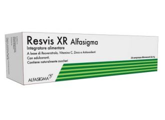 RESVIS XR ALFASIGMA 20 COMPRESSE EFFERVESCENTI DA 4 G