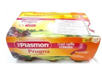 PLASMON OMOGENEIZZATO PRUGNA 6 X 104 G