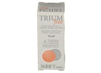 TRIUM FREE GOCCE OCULARI 10 ML