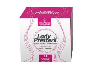 LADY PRESTERIL COTTON POWER PROTEGGI SLIP POCKET ANATOMICI RRIPIEGATI PROMO 24 PEZZI