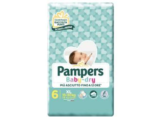 PAMPERS BABY DRY DWCT XL 14 PEZZI