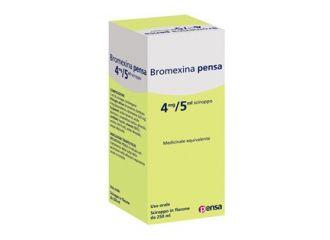 BROMEXINA PENSA 4 MG/5 ML SCIROPPO