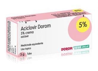 ACICLOVIR DOROM 5% CREMA