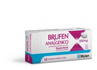 BRUFEN ANALGESICO COMPRESSE RIVESTITE CON FILM