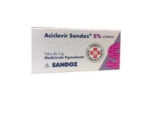 ACICLOVIR SANDOZ 5% CREMA